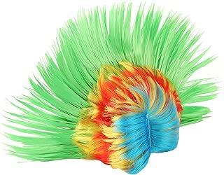 Rainbow Mohawk Wig Dance Costume Performance Accessory