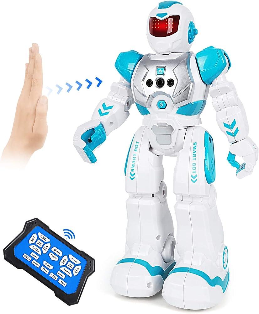 aranee, robot giocattolo bambini, robot telecomandato,,programmabile,parla,cammina cantando e balla
