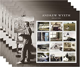 Andrew Wyeth 5 Sheets of 12 USPS First Class Postage Stamps American Artist Paintings