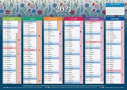 Calendrier 2021   Feminae   format A4   Papier épais   prévu pour