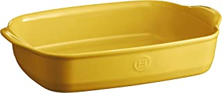 Emile Henry Rectangular Oven Dish, 36 cm x 23 cm, Yellow