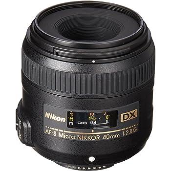 Nikon AF-S DX Micro 40mm F/2.8G Prime Lens for Nikon DSLR Camera