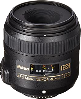 Nikon AF-S DX 40mm f2.8G Micro Lens, Black