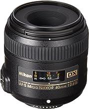 Nikon AF-S DX Micro-NIKKOR 40mm f/2.8G Close-up Lens for...
