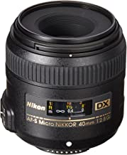 Nikon AF-S DX Micro-NIKKOR 40mm f/2.8G Close-up Lens for...