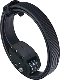 OTTOLOCK Steel & Kevlar Combination Bike Lock   Lightweight, Compact, Durable Design   Ideal for Cycling & Outdoor Gear