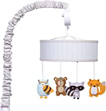 Lodge Buddies Baby Crib Musical Mobile - Forest Animal Theme