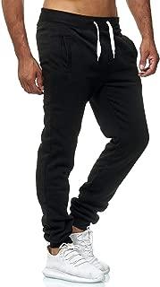 black joggers sweatpants