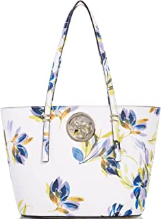 Open Road/Small Tote White Floral