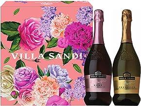 【Amazon.co.jp限定】 【母の日 ギフト プレゼントに最適】シャンパンより売れているイタリア最高峰スパークリング ヴィッラ サンディ ワインギフトセット [ 750ml×2 ] [ギフトBox入り]