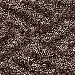 Notrax Entrance Mat, for Heavy Traffic Areas, 4' Width x 6' Length Brown