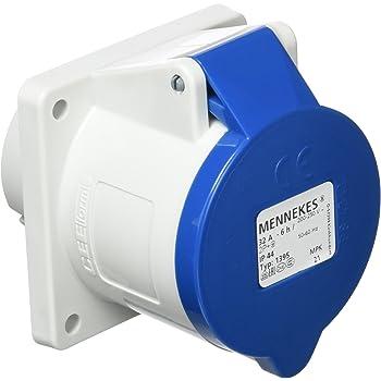 1pc 3-Core 32A Adaptateur de connecteur Mural /étanche Prise Industrielle GROOMY