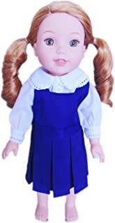 Brittany's My Navy Jumper Compatible with Wellie Wisher Dolls