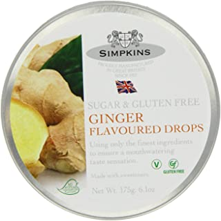 Simpkins Sugar Free Ginger Drops 175 g (Pack of 6)