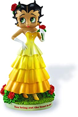 Betty Boop You Bring Out The Beast in Me by The Bradford Exchange Hand-Painted Collectible Beauty and the Beast Belle Doll St
