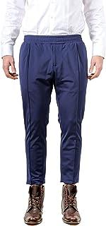 Daniele Alessandrini Luxury Fashion Mens P3671N882400023 Blue Pants | Spring Summer 20