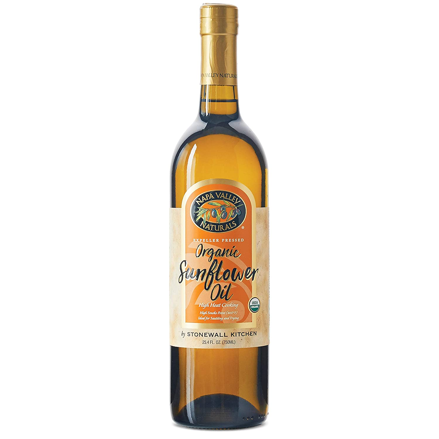 Napa Valley Naturals Organic Sunflower Oil, 25.4 Ounce