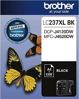 Brother LC-237XLBK Genuine Black Extra High-Capacity Ink Cartridge