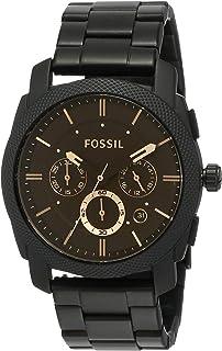 Men's Machine Stainless Steel Quartz Chronograph Watch