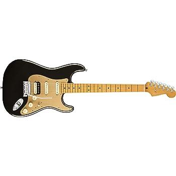 Fender American Ultra Stratocaster HSS Electric Guitar (Maple, Texas Tea)