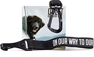 Saker Premium Dog Car Seatbelt – Adjustable Safety Leads Compatible With Any Dog Car Harness | Heavy Duty Seat Belt Tether That Will Never Mingle, Get Chewed or Accidentally Come Off