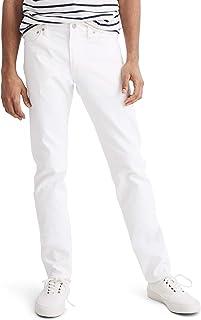 [メイドウェル] メンズ デニムパンツ Madewell Slim Fit Jeans (Tile White) [並行輸入品]