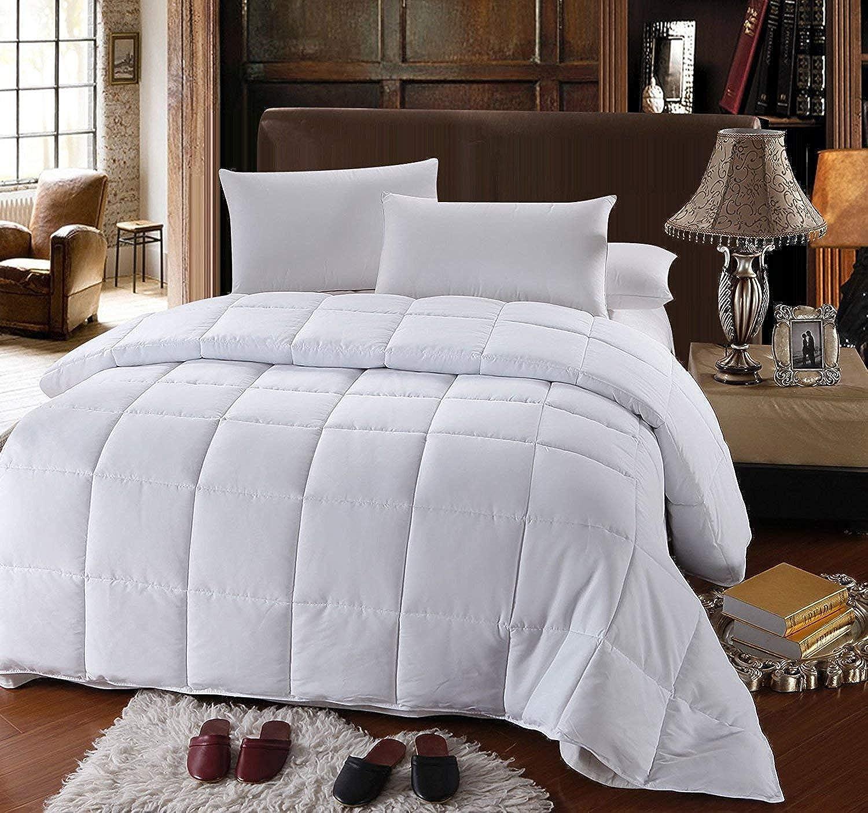 Royal Hotel's Full   Queen Size Down-Alternative Comforter - Duvet Insert, 100% Down Alternative Fill