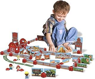 Sprig Toys Blocks Ol Mac's Barnyard Playset