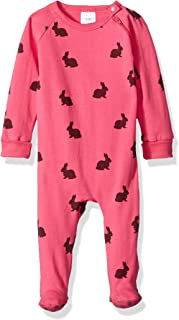 Blue Banana Baby Girls' Critters Sleeper Side Zip
