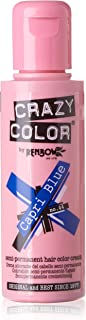 4 x Crazy Colour Semi Permanent Hair Dyes 100ml (Capri Blue)