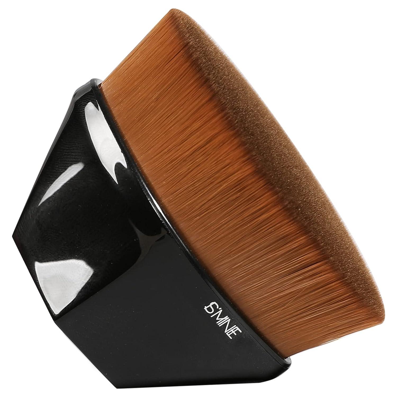 ISMINE Foundation Makeup Brush New life Flat Max 87% OFF Blus Kabuki Face Hexagon Top