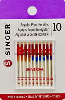 Sewing Machine Needles: Singer S4790 Universal Assorted, Fits Singer, Janome, Kenmore, Brother, Pfaff, Bernina, Elna, Toyota, Viking, Husqvarna, New-Home