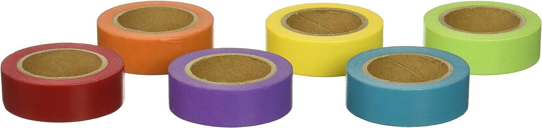Ziel Hobby Washi Tape Set 6 Stück Stück Stück plus Gratis Bonus Tape Solid Farbes 1 B01C4YOZP0   Deutschland Frankfurt  506be6