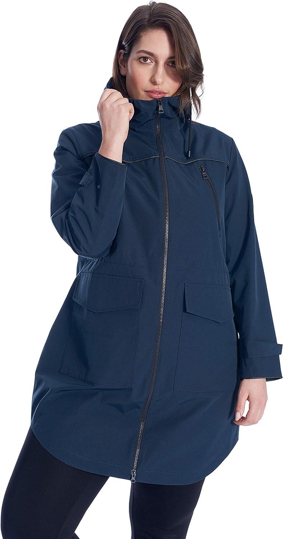Alpine North Women's Plus Size Rain Jacket   Weather Resist