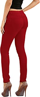 Womens Super Stretch Comfy Denim Skinny Jeans