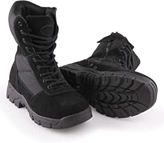 BURGAN 888 All Terrain Tactical (Side Zipper) Combat Boot | Lace Up Padded Jungle Everyday Style | Unisex for Men and Woma...