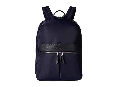 KNOMO London Mayfair Beaufort Backpack (Dark Navy) Backpack Bags