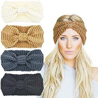 DRESHOW 1950's Vintage Modern Style Elastic Women Turban Headbands Twisted Cute Hair Band Accessories