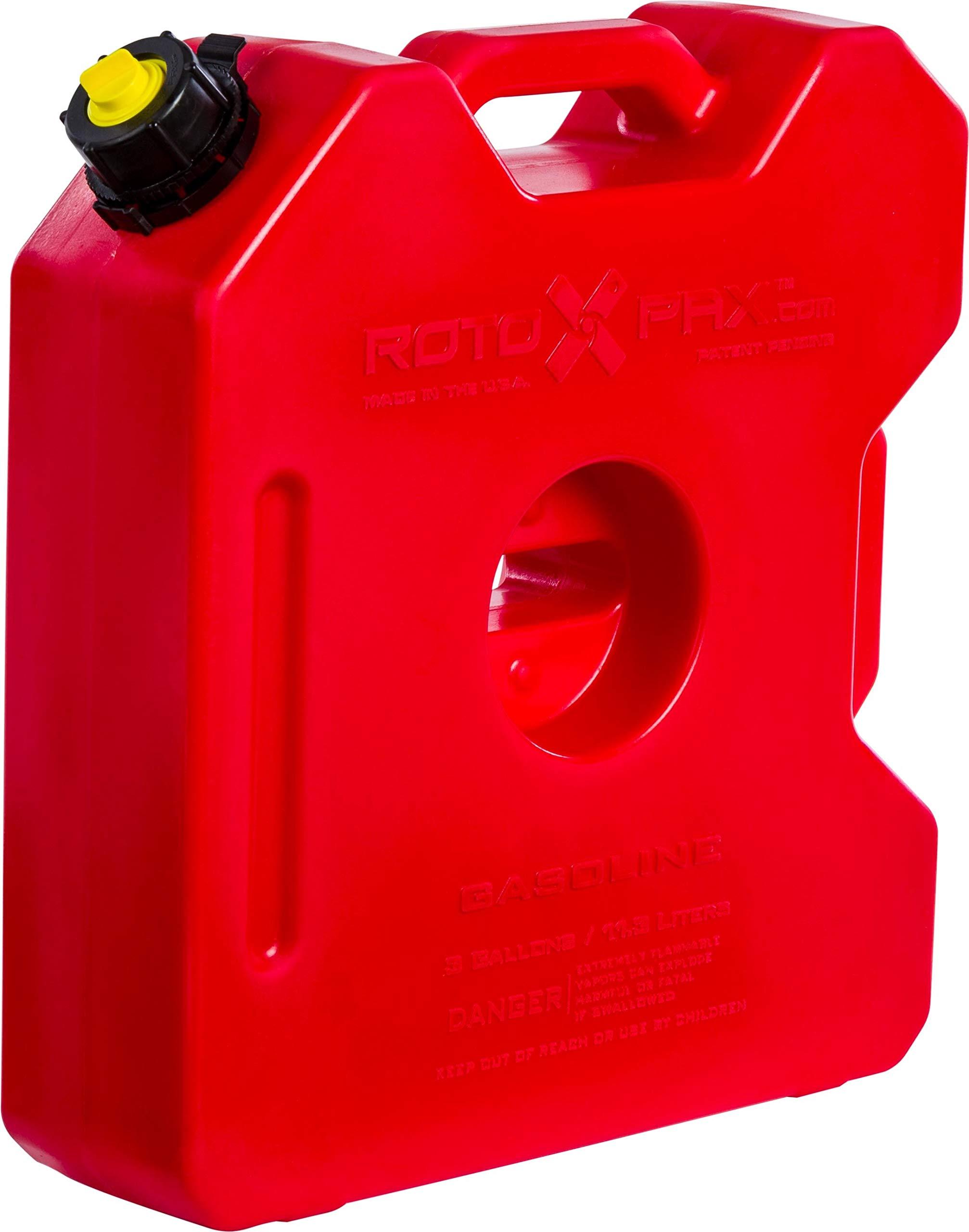 RotopaX RX-3G Gasoline Pack - 3 Gallon Capacity
