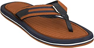 SOLETHREADS SOHO | Suave | Good Looking | Fashion | Canvas Sneaker Look | Travel Ready Flip Flops for Men - Please Buy ONE Size Larger Than Your Regular UK/India Size