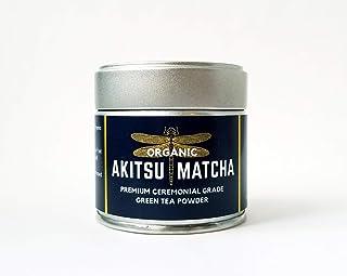AKITSU MATCHA � Premium Ceremonial Grade Green Tea Powder � USDA Organic � 30g (1.1oz) � Nishio, Japan