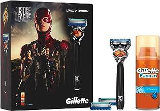Gillette Fusion Pro Glide Razor Gift Set Justice League