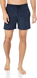 Tommy Hilfiger Men's Logo Swim Shorts, Blue/Navy