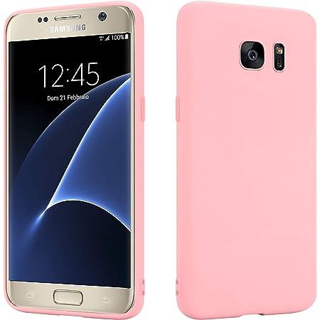 Hsp Rosa Hülle Kompatibel Mit Samsung Galaxy S7 Elektronik