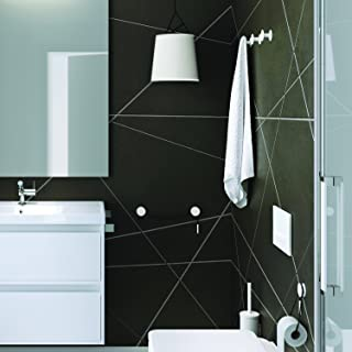 Bath by Cosmic 2751564 Toallero Cromo//Blanco