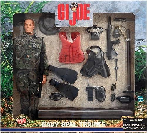 GI Joe NAVY SEAL TRAINEE 12 Action Figure (2000 Hasbro)