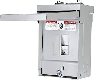Siemens W0204ML1060U 60 Amp Outdoor Circuit Breaker Enclosure, Gray
