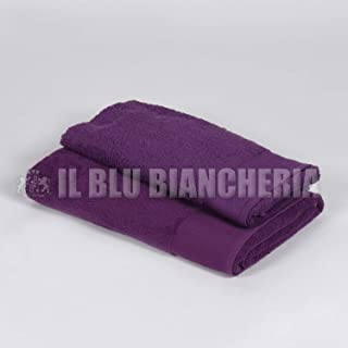 Bianco Happidea F571316301071IM100 Asciugamano 60x110 100/% Cotone