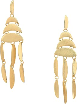 Sadie Stacked Disc Statement Earrings