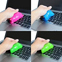 Weilai Magic Innovative Super Soft Sticky Dust Cleaning Gel Gum Computer Car PC Laptop Keyboard Universal Dust Cleaner (Pack of 4)